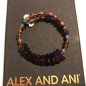 Alex and Ani Deity Wrap Bracelet
